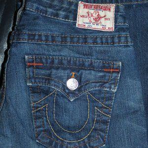 True Religion Jeans Women size 28 Flare Joey USA